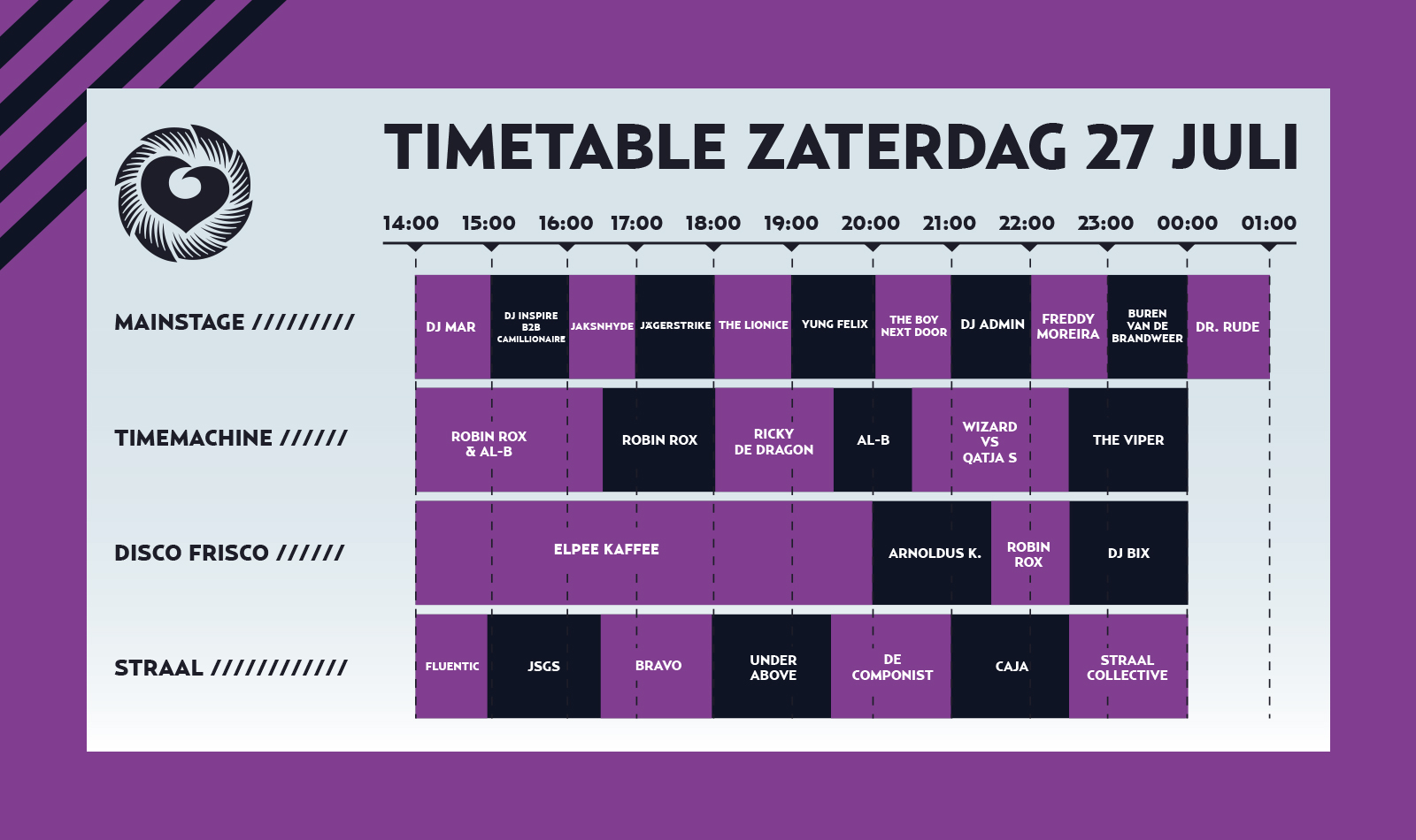 Timetable Outrageous